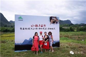 艾米农场举办水稻丰收节暨石湖慢活小镇